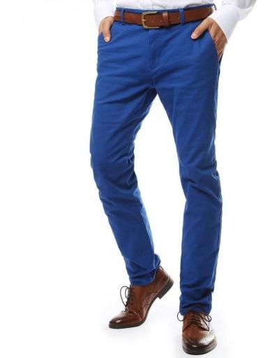 Modré pánské chino kalhoty UX2139