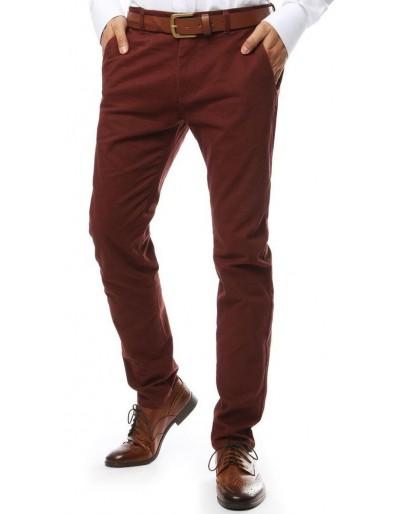 Červené pánské chino kalhoty UX2140