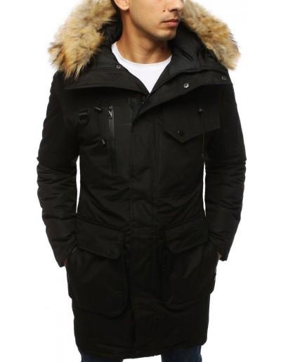 Černá pánská zimní bunda TX3032