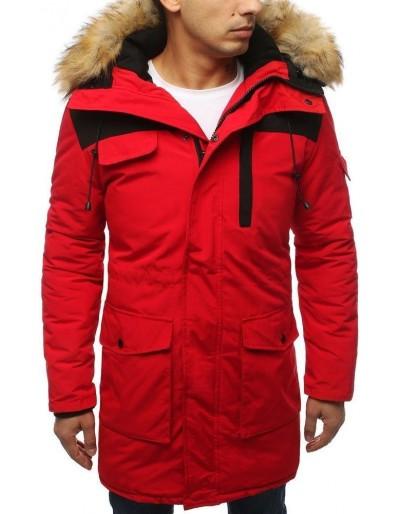 Červená pánská zimní bunda TX3034