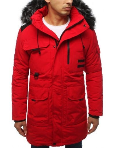 Červená pánská zimní bunda TX3039