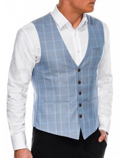 Pánská vesta V50 - světle modrá