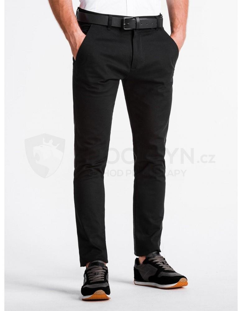 Pánské kalhoty chinos P830 - černé