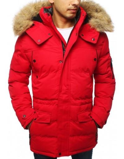 Červená pánská zimní bunda TX3116