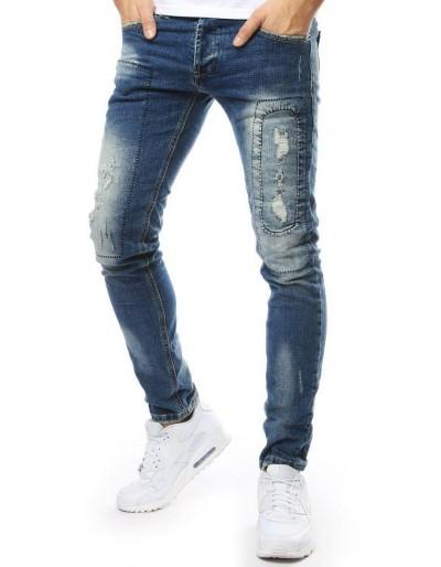 Pánské modré džínové kalhoty UX2172