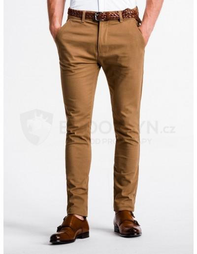 Men's pants chinos P830 - camel