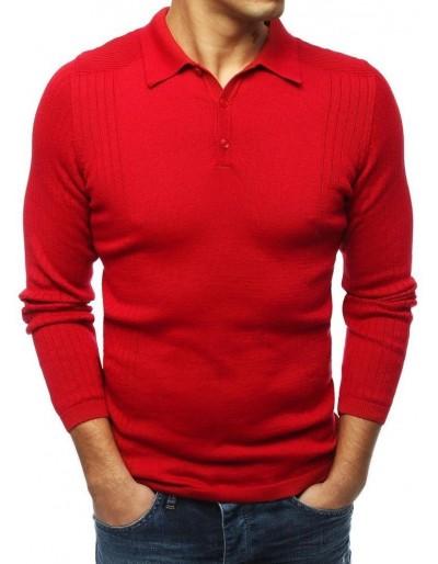 Červený pánský svetr WX1416