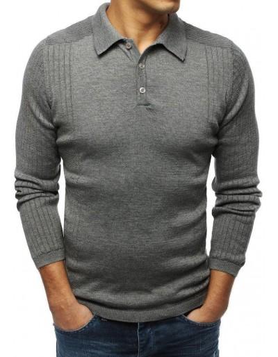 Pánský svetr antracit WX1417