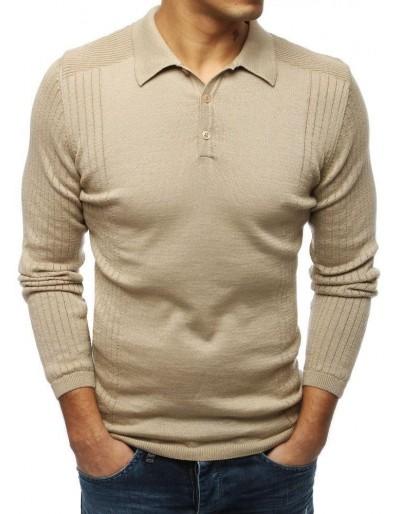 Pánský béžový svetr WX1420