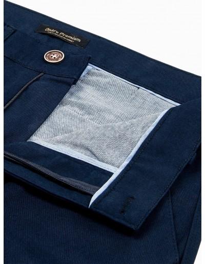 Men's pants chinos P830 - navy