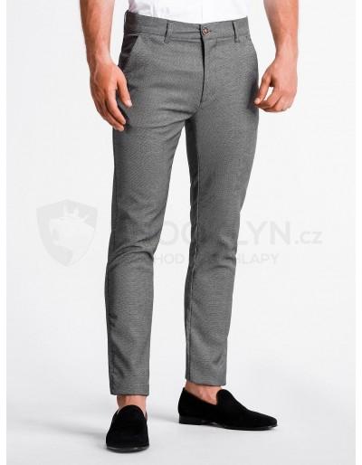 Pánské kalhoty chinos P831 - černé