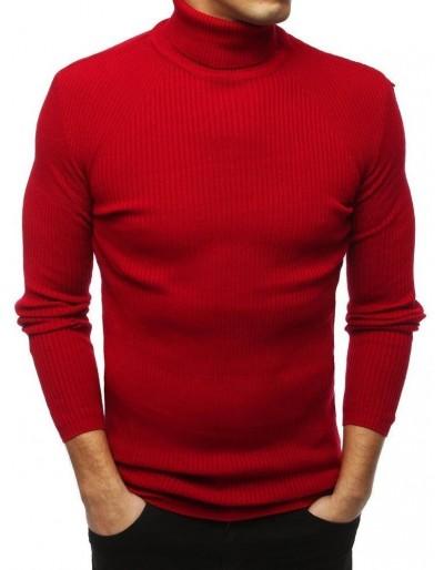 Červený pánský rolák WX1445