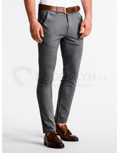Men's pants chinos P832 - grey