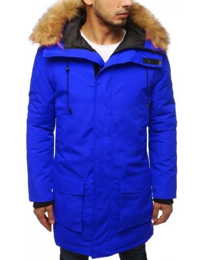 Pánská modrá zimní parka bunda TX3127