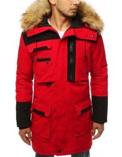 Červená pánská zimní bunda TX3135
