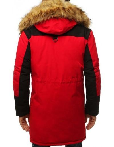 Kurtka męska zimowa czerwona TX3135