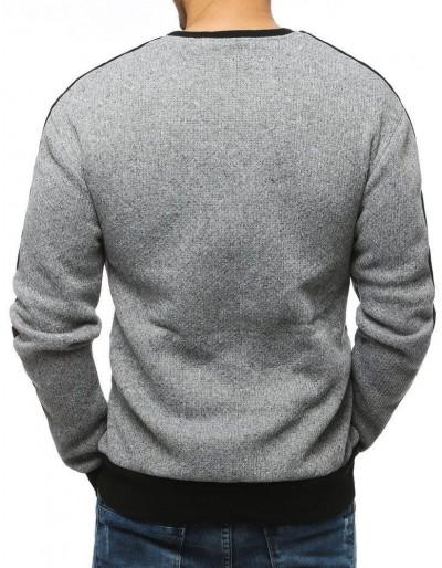 Bluza męska jasnoszara BX4307