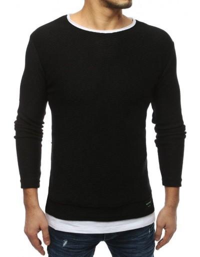 Černý pánský svetr WX1452