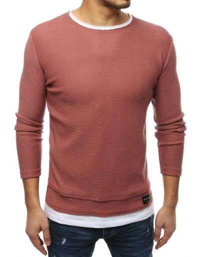 Pánský růžový svetr WX1453