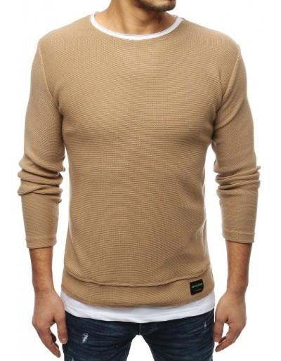 Hnědý pánský svetr WX1456