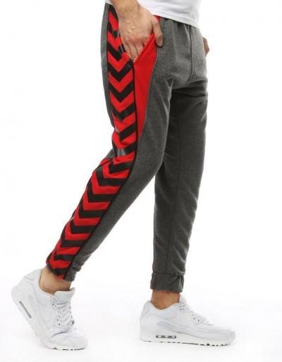 Antracitové pánské kalhoty UX2228