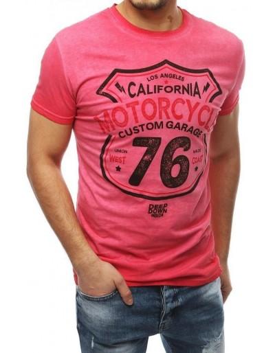 Pánské červené tričko RX3946