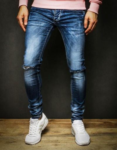 Pánské modré džínové džíny UX2316