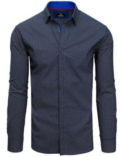 Černé pánské tričko PREMIUM s dlouhým rukávem DX1804