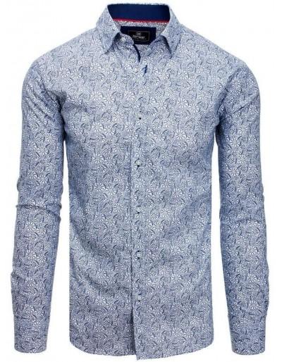 PREMIUM pánská košile s dlouhým rukávem, bílá DX1817