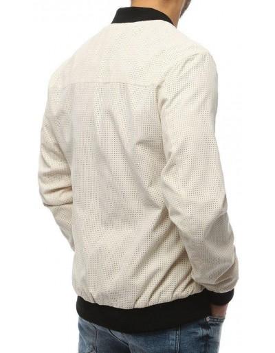 Kurtka męska bomber jacket ecru TX3176