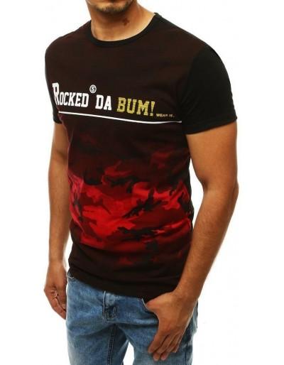 Pánské červené tričko RX3949