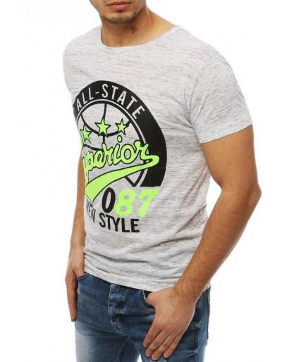 Bílé pánské tričko RX3953