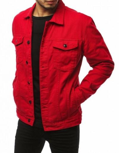Červená pánská riflová bunda TX3220