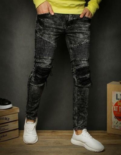 Šedé pánské riflové kalhoty UX2346