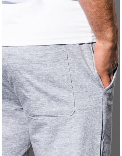 Men's sweatshorts P29 - grey/blue
