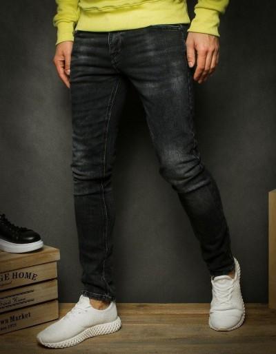 Šedé pánské džínové kalhoty UX2351