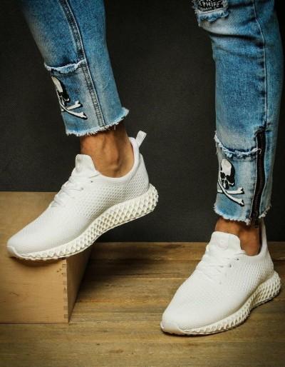 Sneakersy męskie białe ZX0132