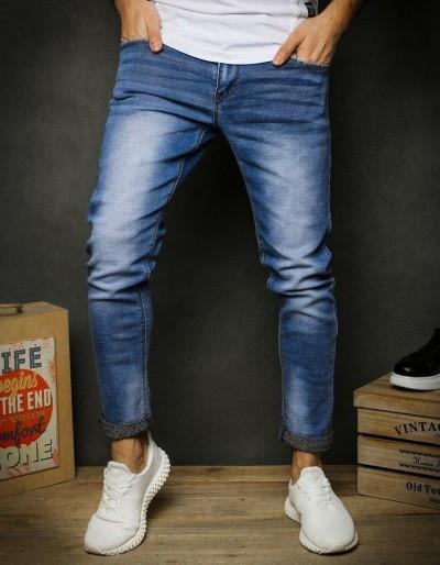 Pánské modré džínové kalhoty UX2390