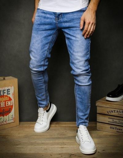 Pánské modré džínové kalhoty UX2393