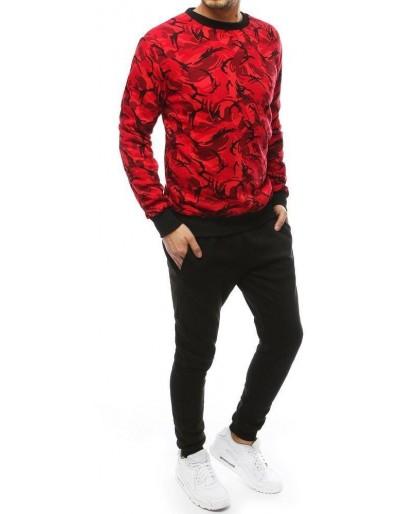 Dres męski czerwono-czarny AX0256