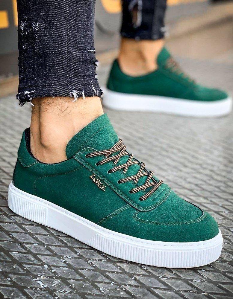 Zelené pánské tenisky ZX0152