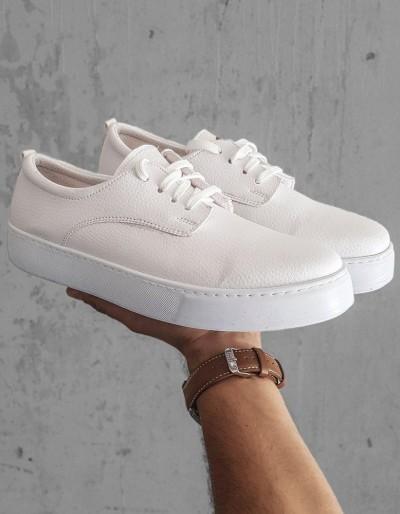 Bílé pánské tenisky ZX0160