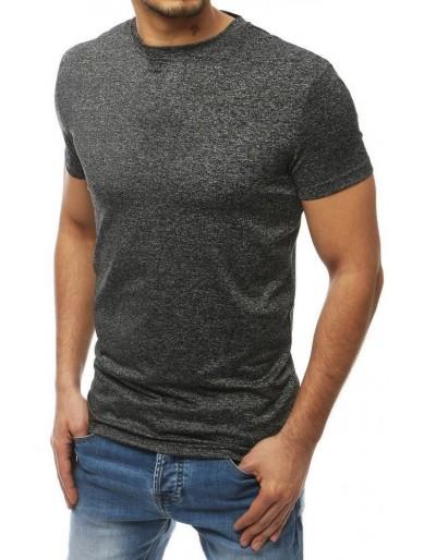 Pánské tmavě šedé tričko RX4017