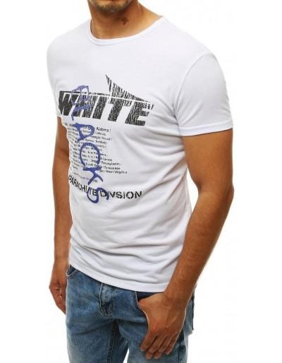 Pánské bílé tričko RX4019