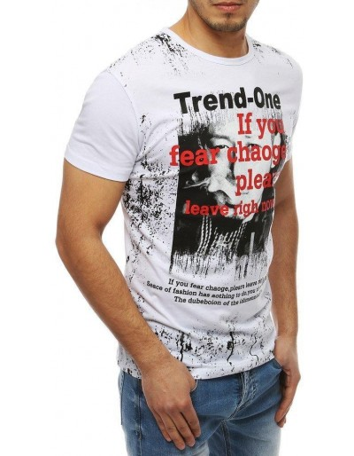 Pánské bílé tričko RX4025