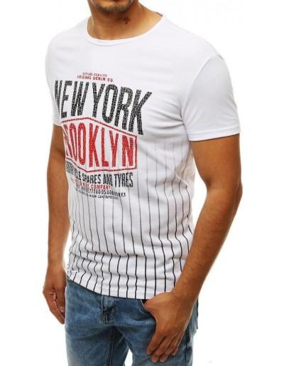 Pánské bílé tričko RX4028