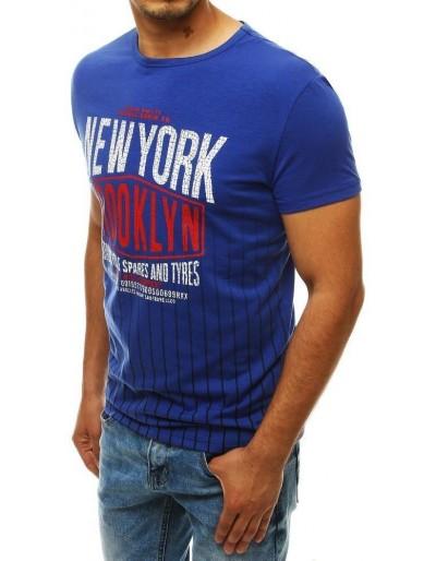 Modré pánské tričko RX4029