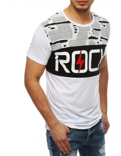 Pánské bílé tričko RX4047