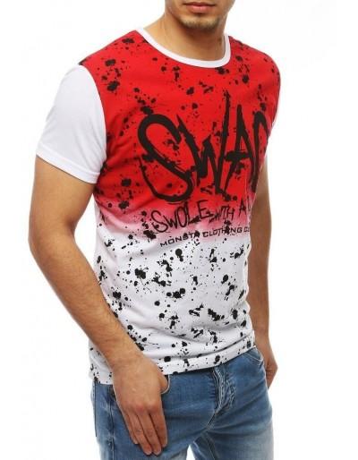 Pánské bílé tričko RX4053