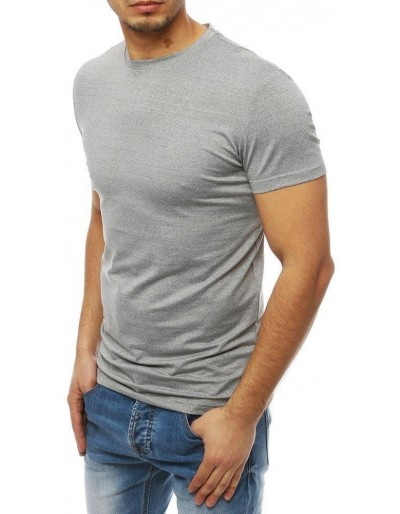 Světle šedé pánské tričko RX4062